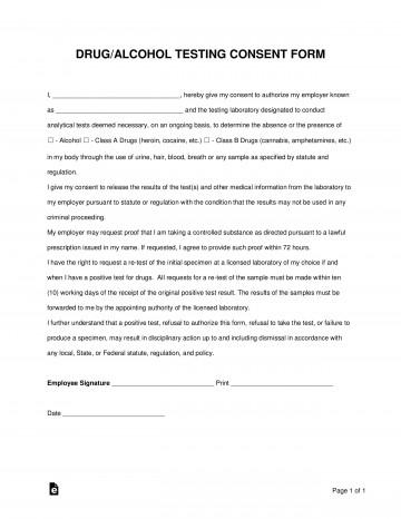 005 Shocking Drug Test Result Form Template High Resolution  Free360