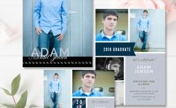 005 Shocking Free Senior Template For Photoshop Image  Collage