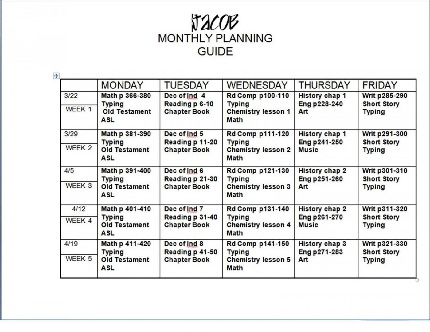 005 Shocking Free Weekly Lesson Plan Template Google Doc Design 1400