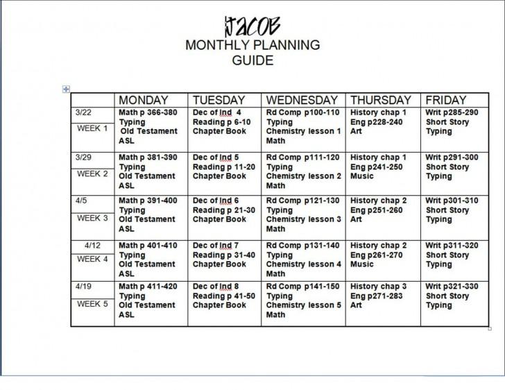 005 Shocking Free Weekly Lesson Plan Template Google Doc Design 728