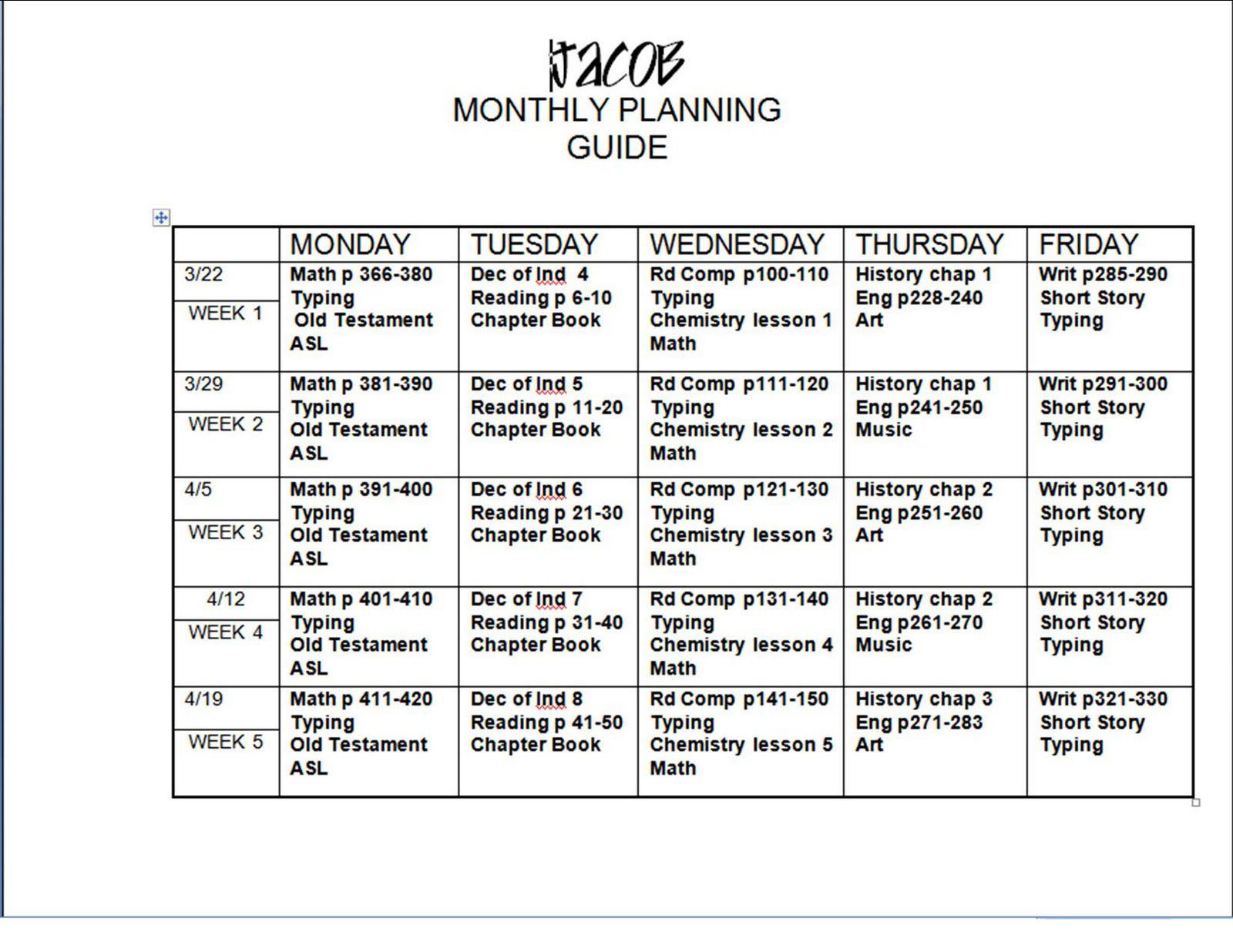 005 Shocking Free Weekly Lesson Plan Template Google Doc Design Full