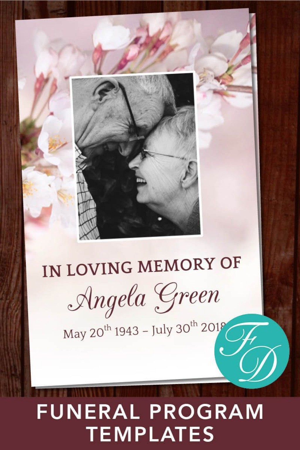 005 Shocking In Loving Memory Powerpoint Template Free Download High Definition Large