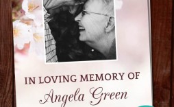 005 Shocking In Loving Memory Powerpoint Template Free Download High Definition