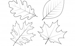 005 Shocking Leaf Template With Line High Definition  Lines Writing Printable