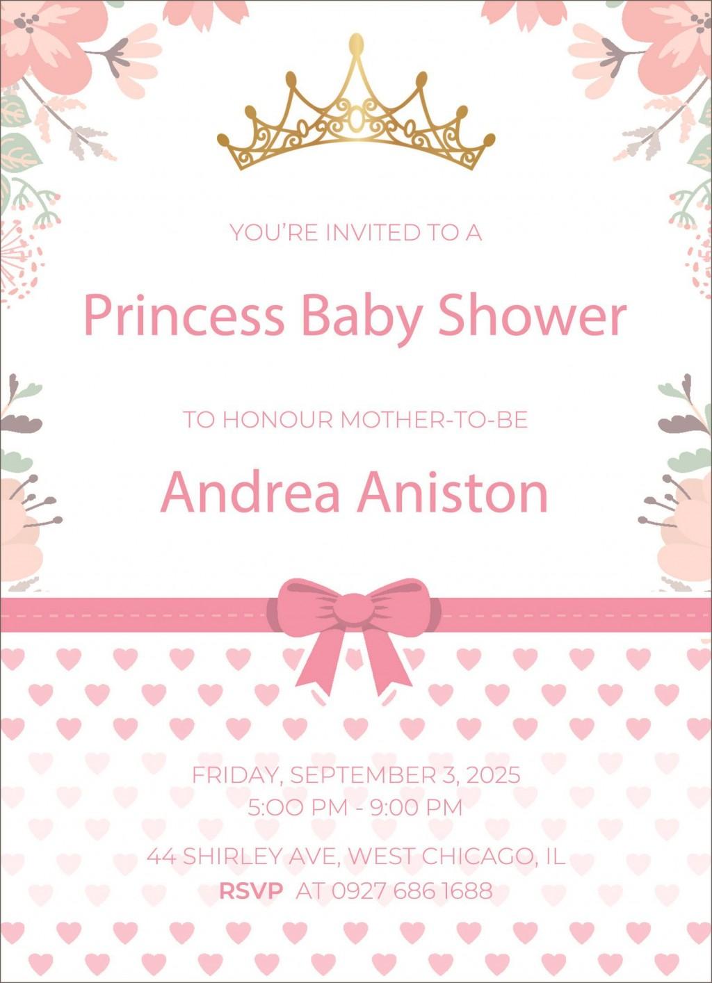 005 Shocking Microsoft Word Invitation Template Baby Shower Example  Free Editable InviteLarge