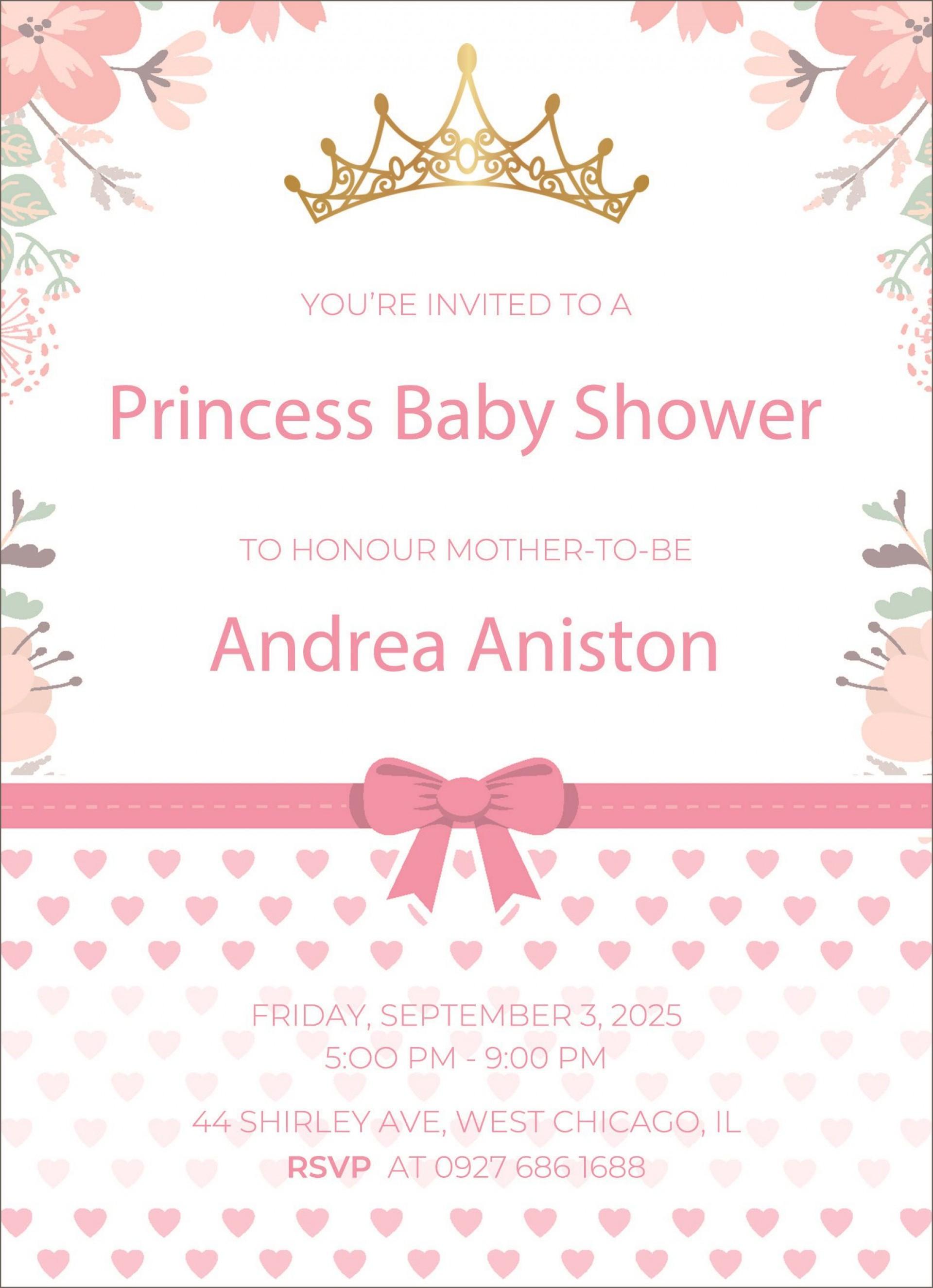 005 Shocking Microsoft Word Invitation Template Baby Shower Example  Free Editable Invite1920