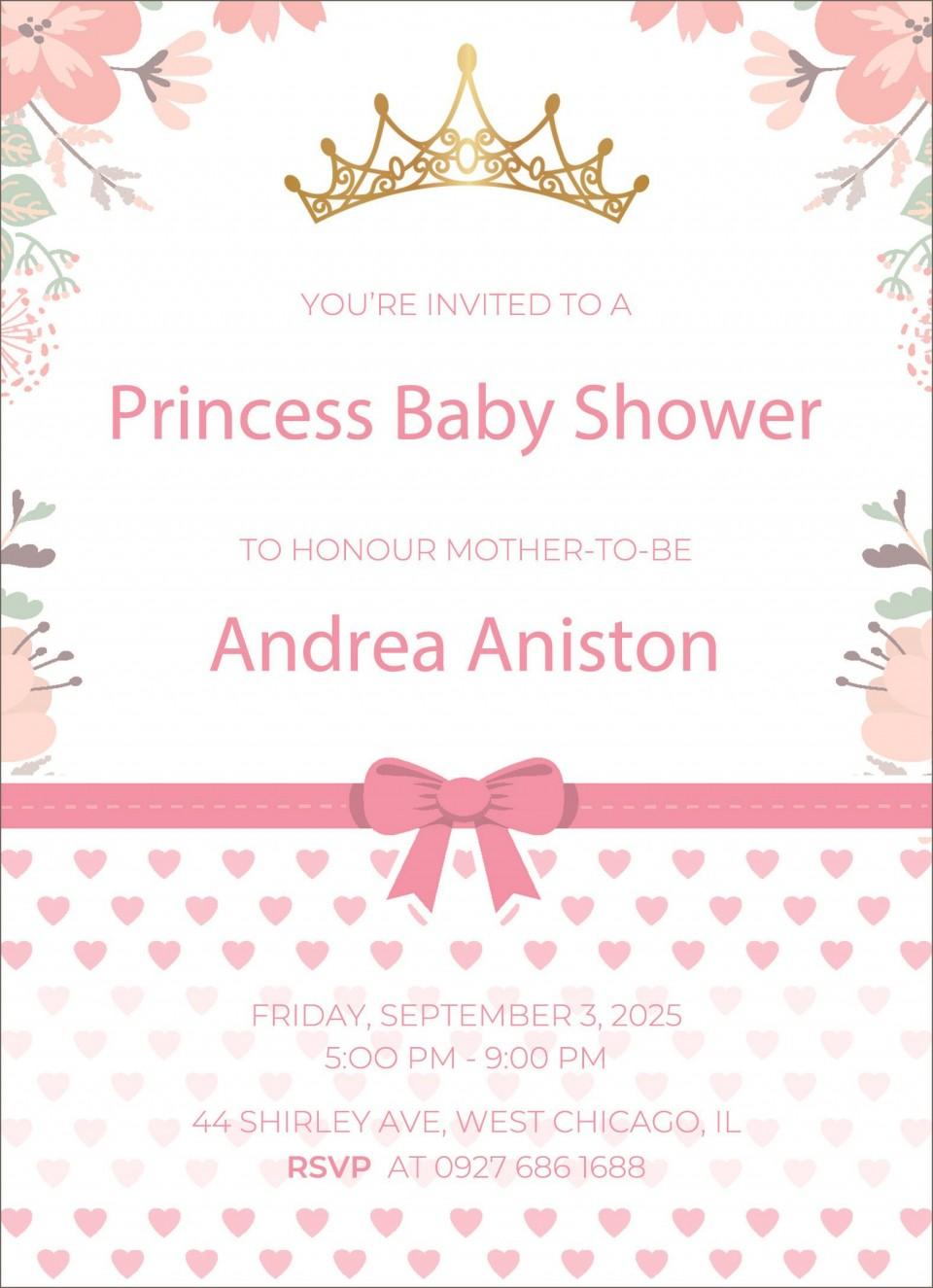 005 Shocking Microsoft Word Invitation Template Baby Shower Example  M Invite Free960
