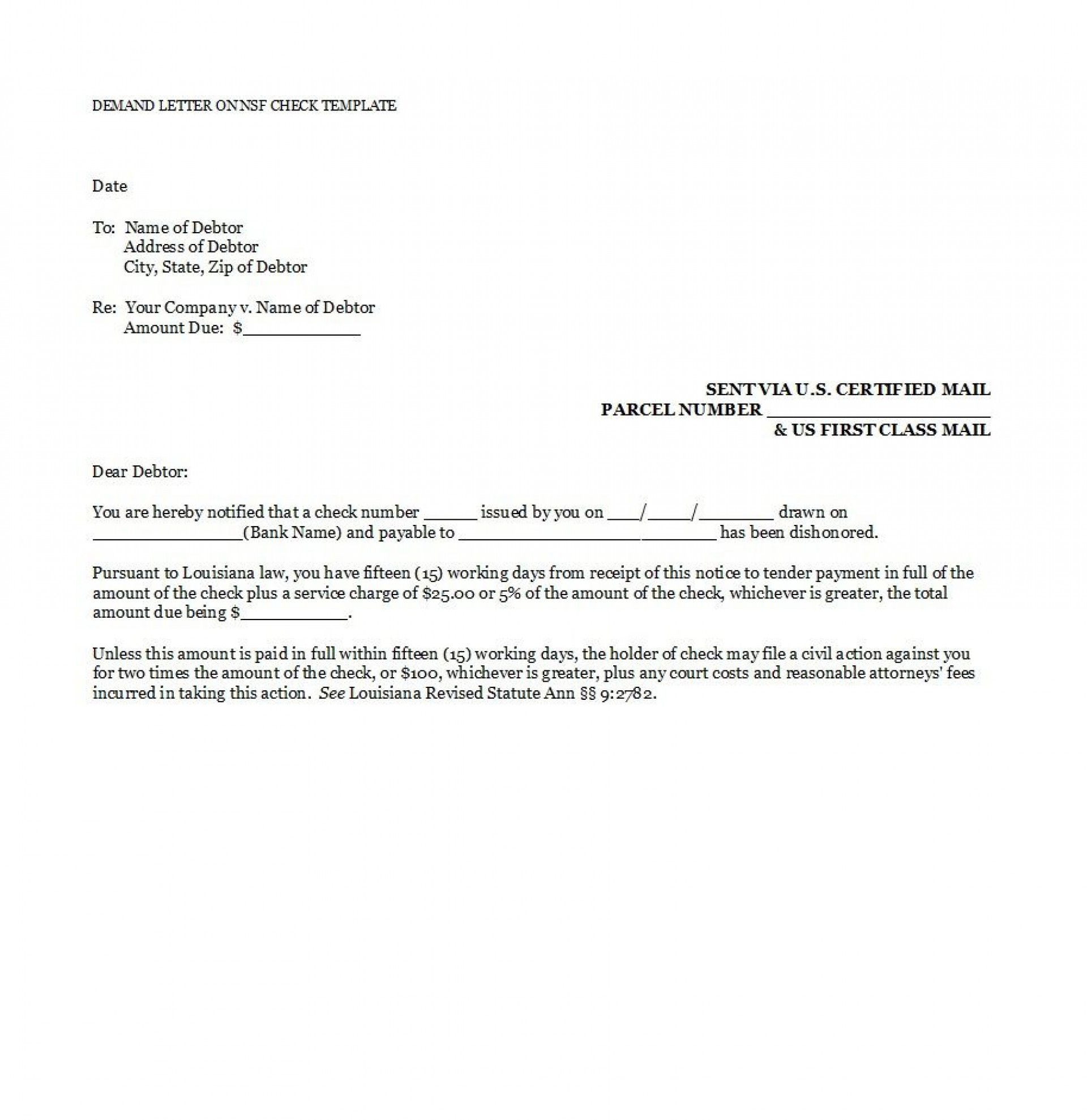 005 Shocking Payment Demand Letter Template Free High Resolution  Final For1920