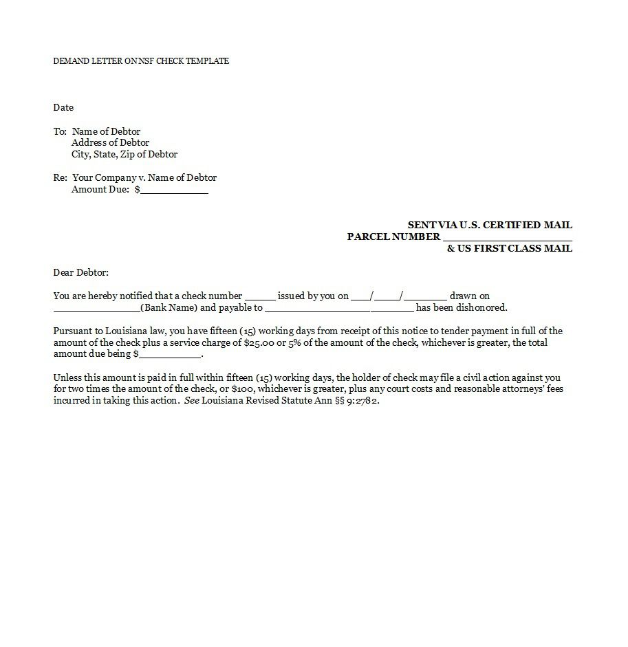 005 Shocking Payment Demand Letter Template Free High Resolution  Final ForFull