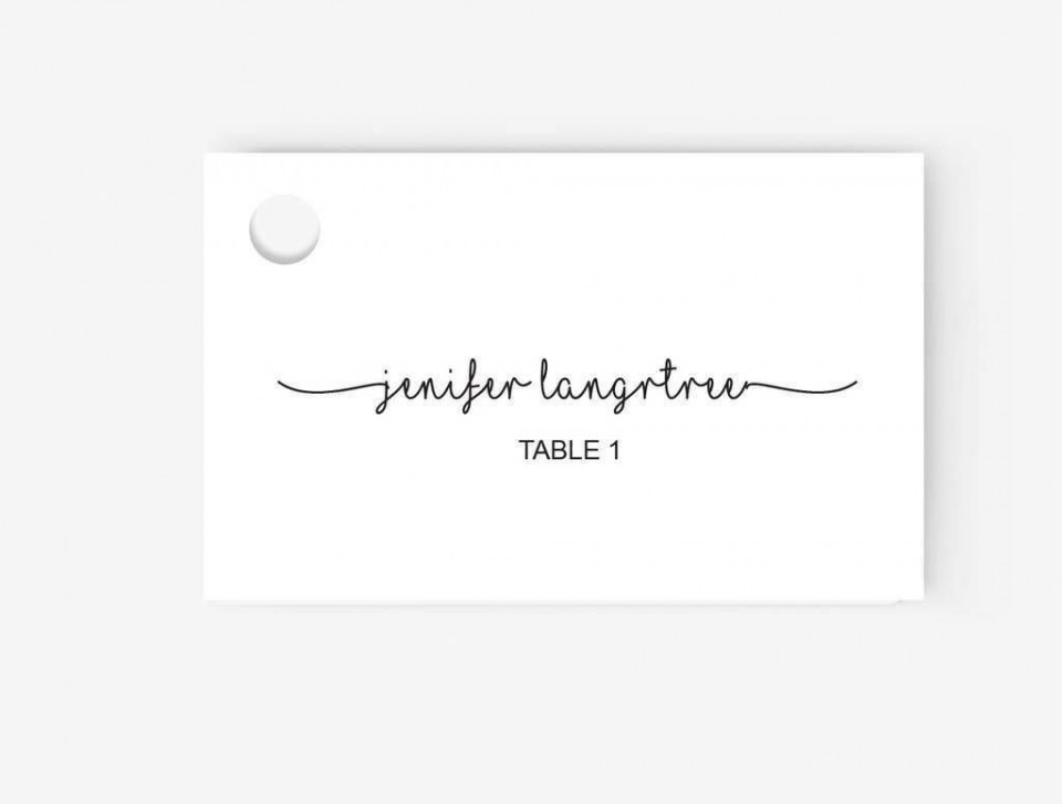 005 Shocking Place Card Template Word High Definition  Free Name Folding Microsoft Table960