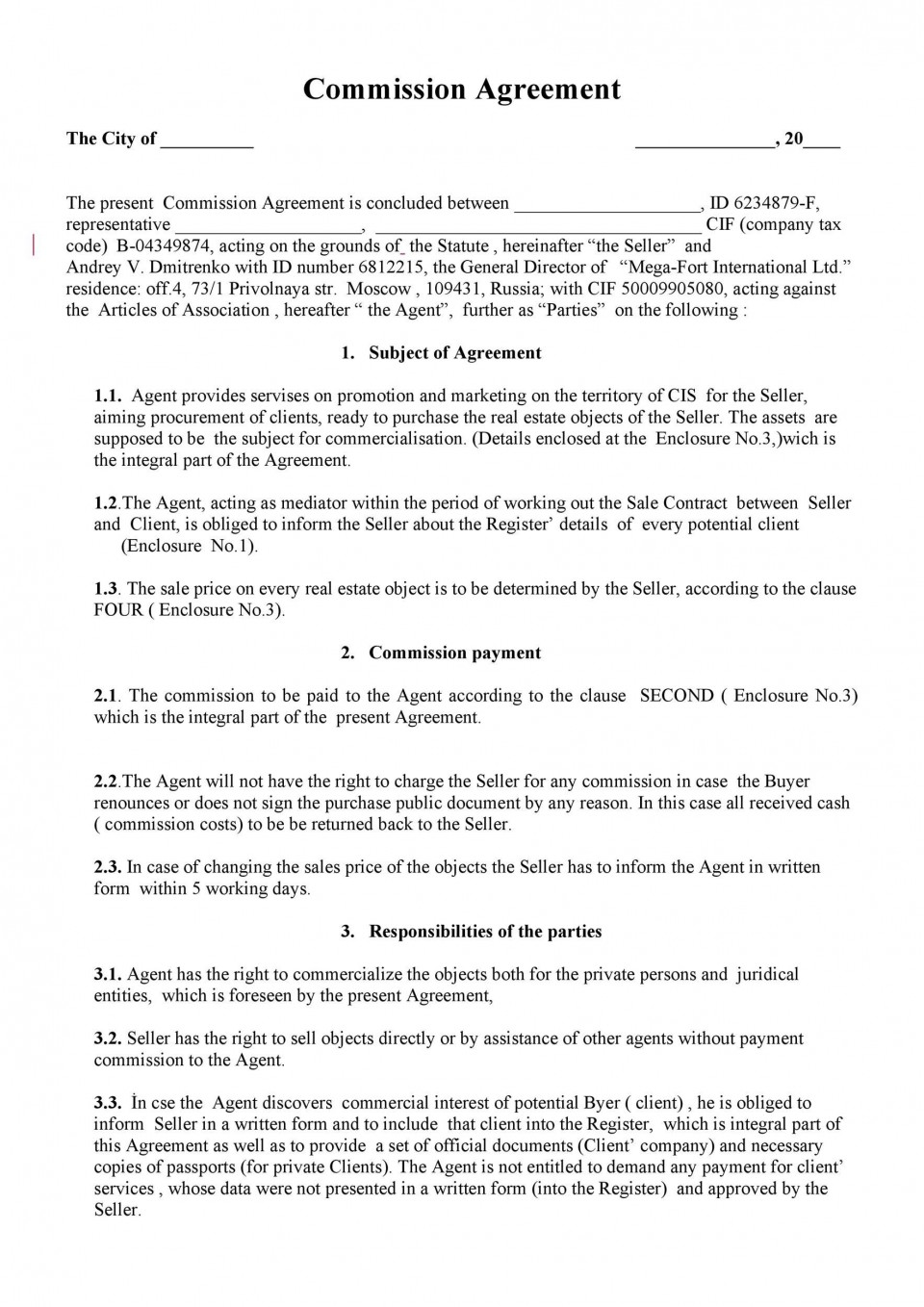 005 Shocking Property Management Contract Template Free Uk High Definition 960