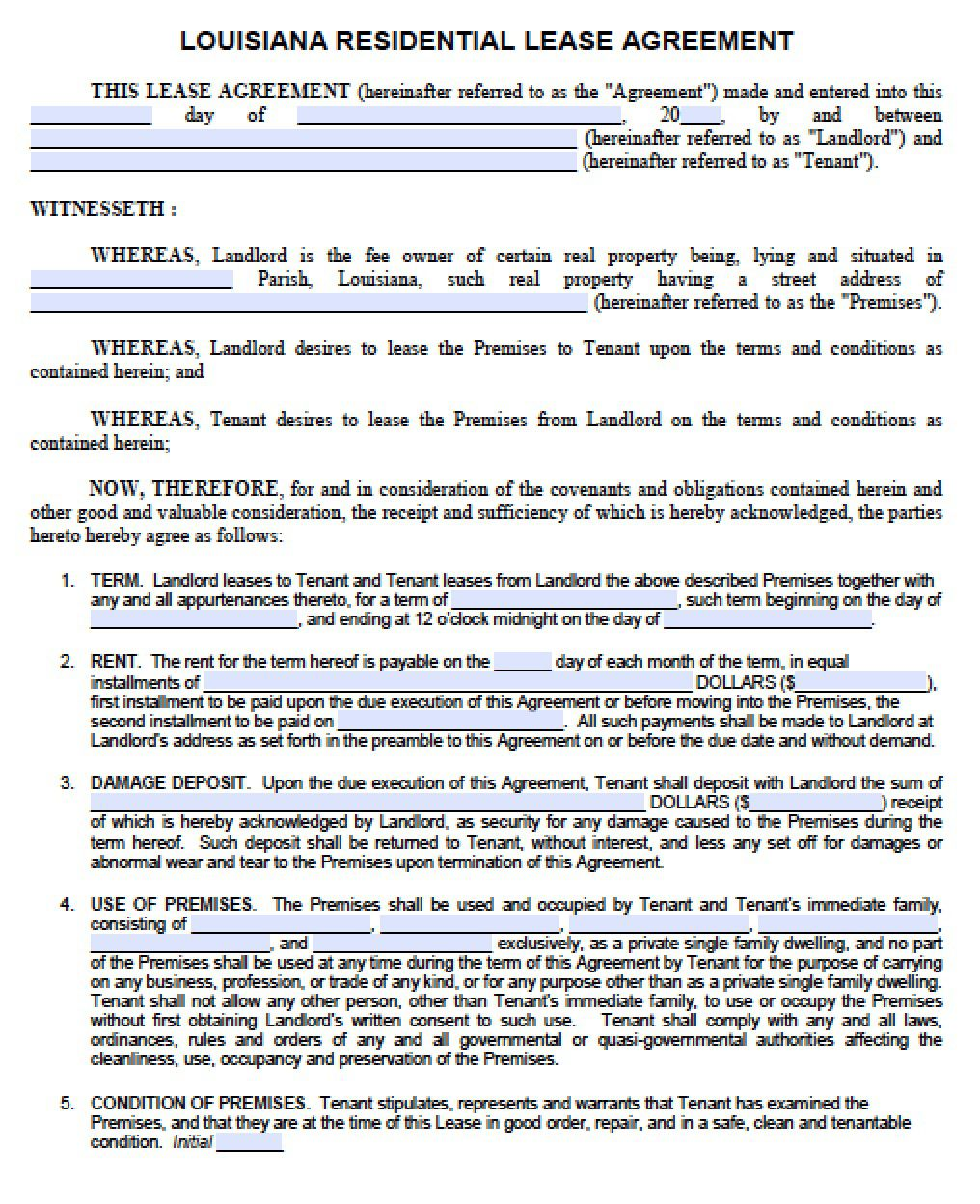 005 Shocking Rent Lease Template Free High Resolution  Room Rental Agreement Form Residential Pdf DownloadFull