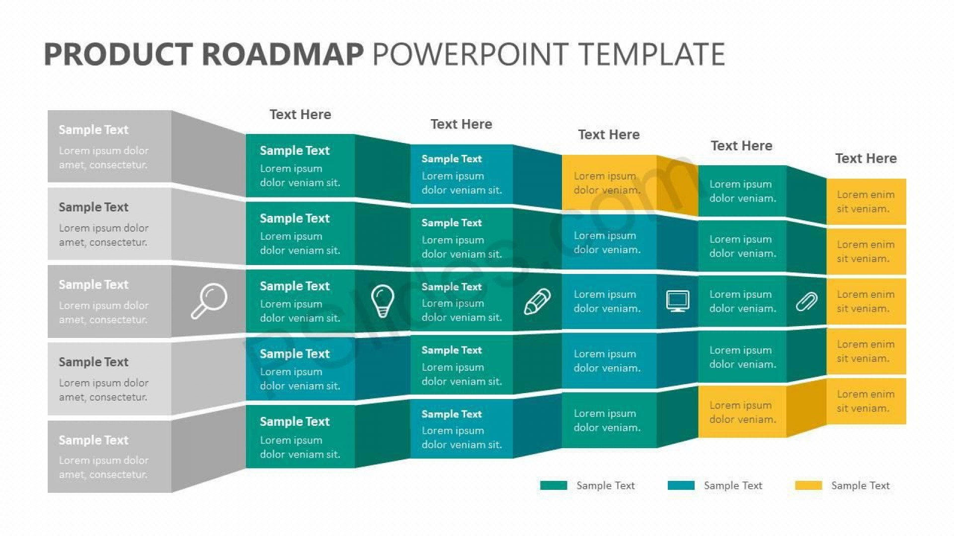 005 Shocking Road Map Template Powerpoint Highest Clarity  Roadmap Ppt Free Download Product1920