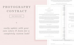 005 Shocking Wedding Photography Contract Template Canada Image