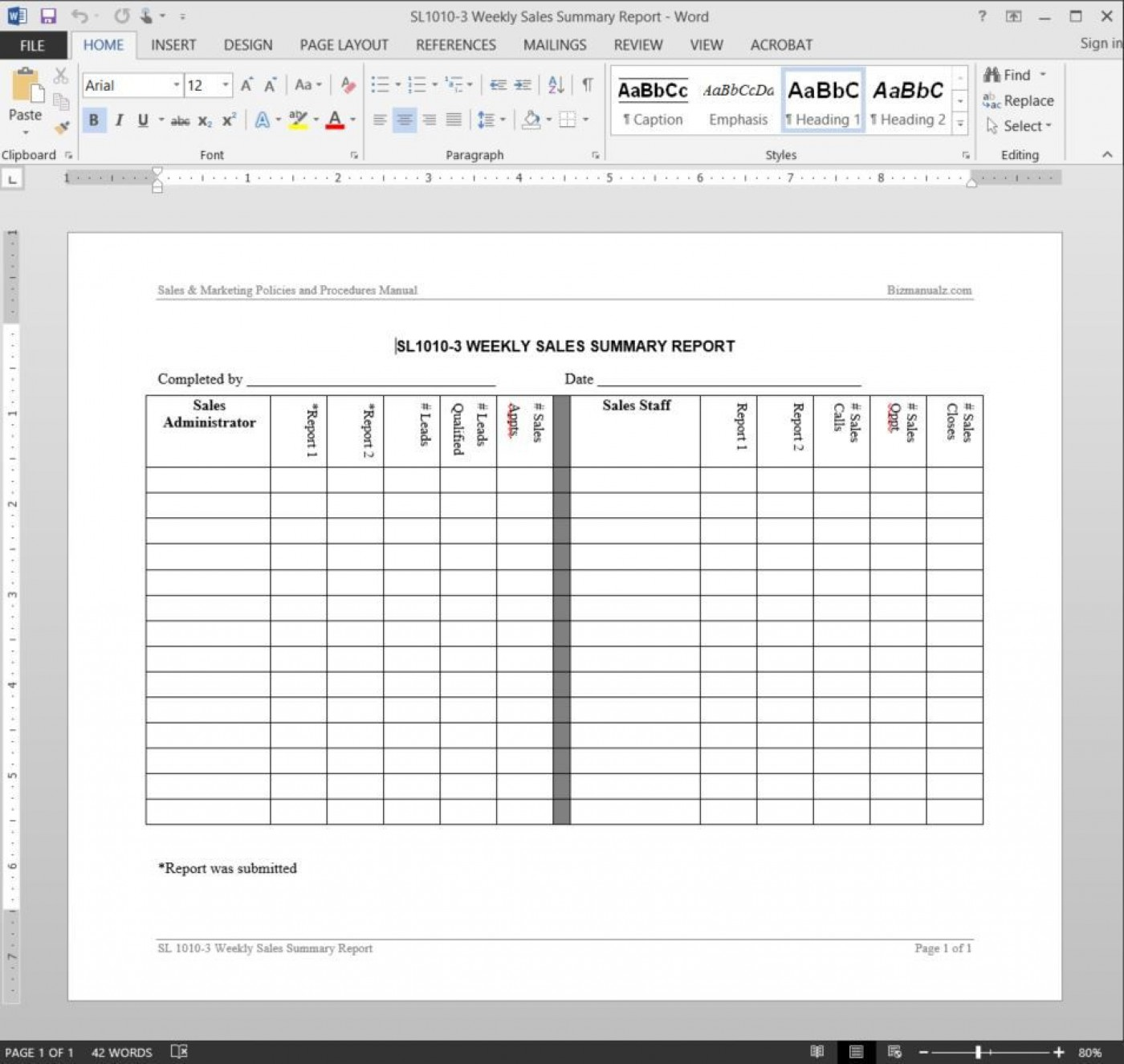 005 Shocking Weekly Sale Report Template Highest Clarity  Free Download Call Example Xl1400