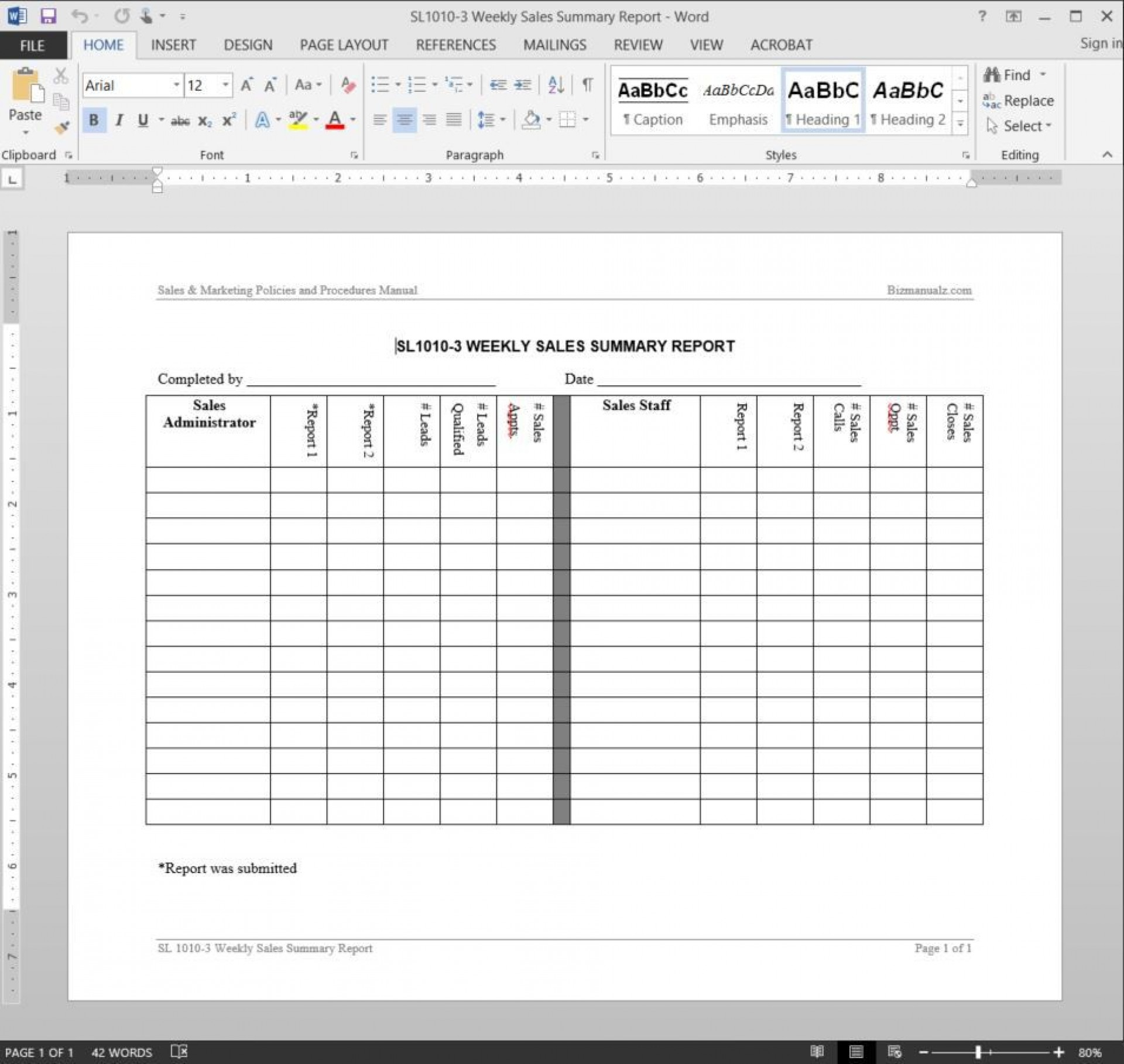 005 Shocking Weekly Sale Report Template Highest Clarity  Free Download Call Example Xl1920