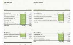 005 Simple Basic Balance Sheet Template Concept  For Self Employed Pdf