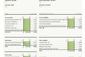 005 Simple Basic Balance Sheet Template Concept  Free For Self Employed Example Uk