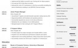 005 Simple Best Professional Resume Template Sample  Reddit 2020 Download