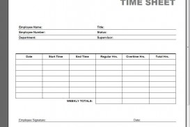005 Simple Employee Time Card Printable Highest Clarity  Timesheet Template Excel Free Multiple Sheet