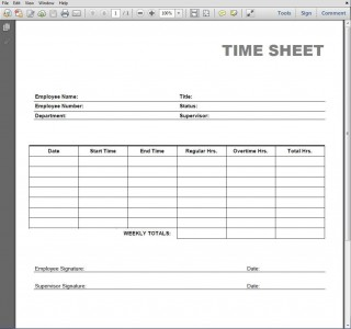 005 Simple Employee Time Card Printable Highest Clarity  Timesheet Template Excel Free Multiple Sheet320