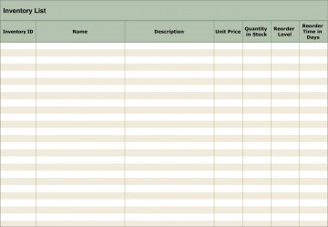 005 Simple Free Excel Stock Inventory Template Highest Clarity 360