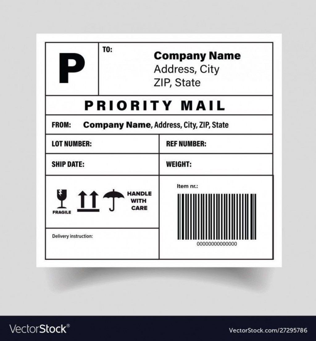 005 Simple Free Shipping Label Template Printable High Def  OnlineLarge