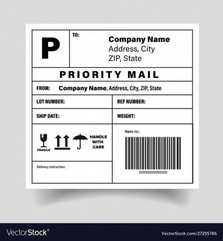 005 Simple Free Shipping Label Template Printable High Def  Online728