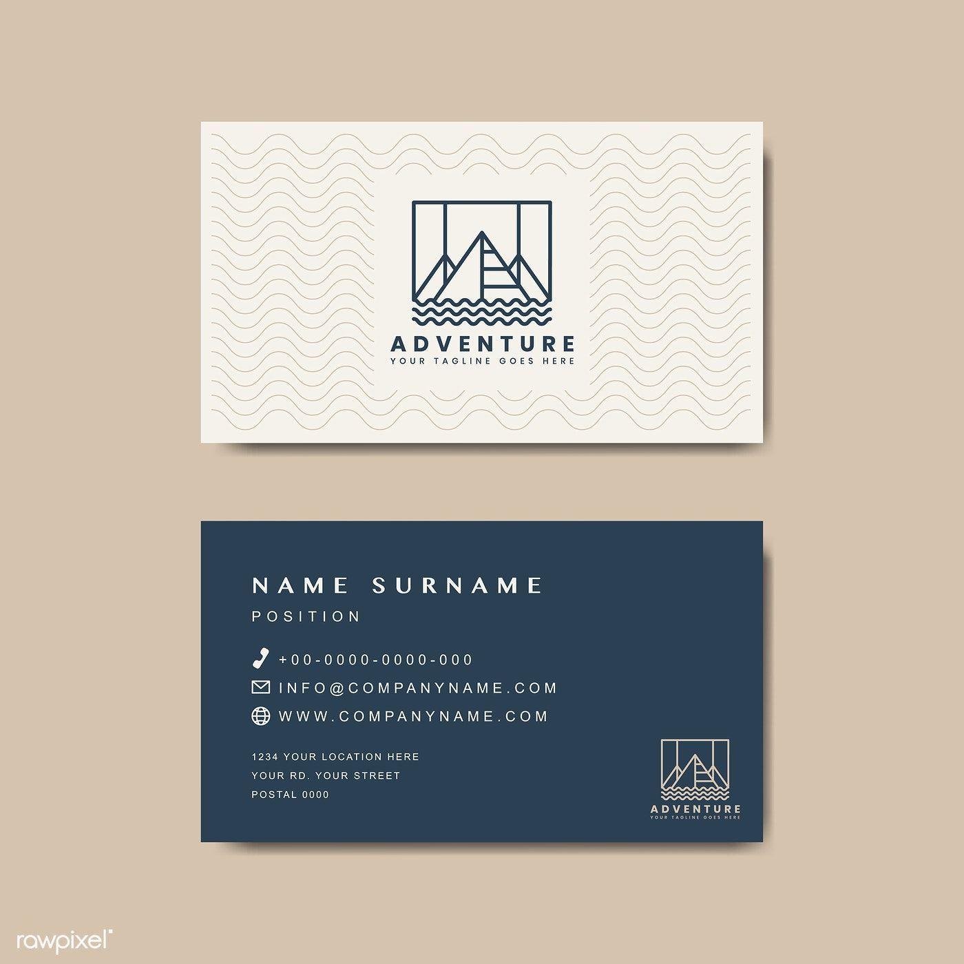 005 Simple Minimal Busines Card Template Free Download Picture  Design CoreldrawFull
