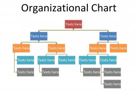 005 Simple Organizational Chart Template Word Design  2010 2007 Free Download