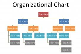 005 Simple Organizational Chart Template Word Design  2013 2010 2007