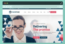 005 Simple Professional Busines Website Template Free Download Wordpres Sample
