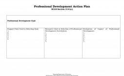 005 Simple Professional Development Plan Template Inspiration  Example For Manager Excel