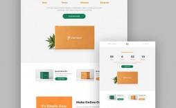 005 Simple Responsive Landing Page Template High Definition  Templates Marketo Free Pardot Html5 Download