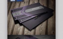 005 Simple Busines Card Template Microsoft Word Photo