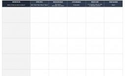 005 Simple Smart Goal Template Excel Inspiration  Free Setting Worksheet