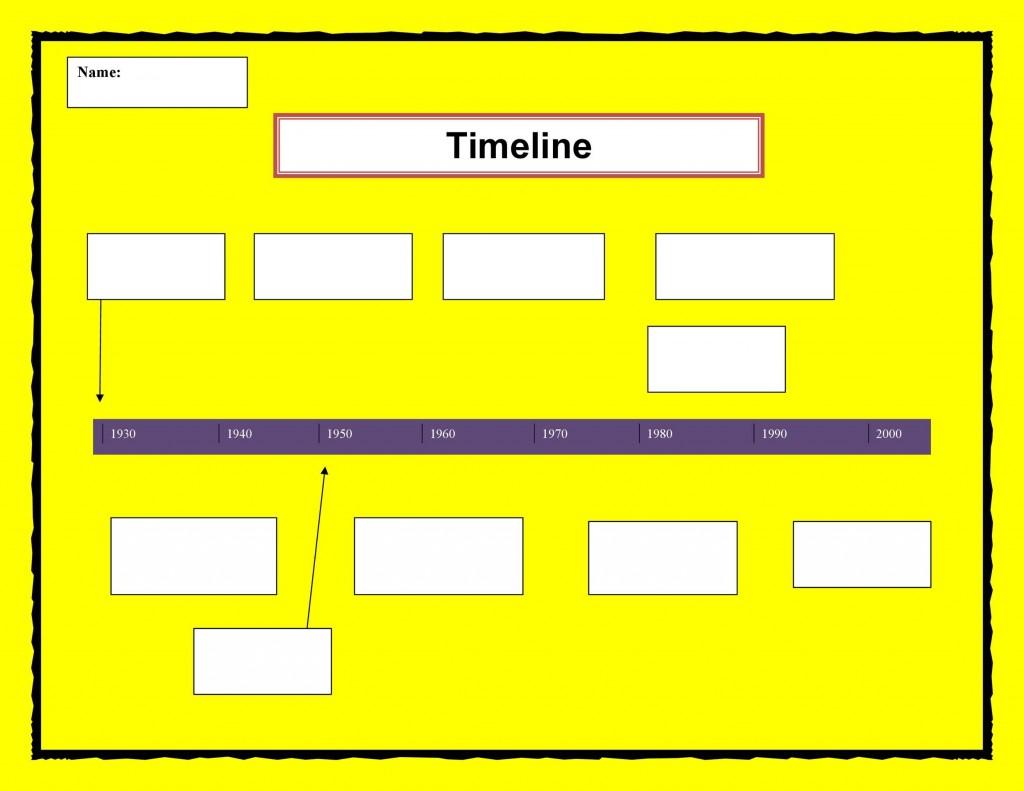 005 Simple Timeline Template For Word Sample  Wordpres FreeLarge