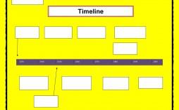 005 Simple Timeline Template For Word Sample  Wordpres Free