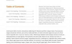 005 Simple White Paper Outline Sample Idea