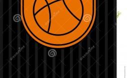 005 Singular Basketball Tournament Flyer Template Idea  Word Free