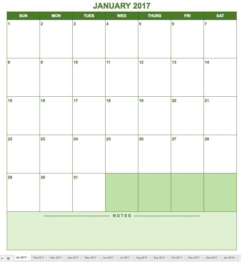 005 Singular Blank Monthly Calendar Template Google Doc Example  DocsFull
