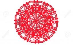 005 Singular Chinese Paper Cut Template Idea  Templates