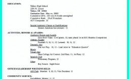005 Singular College Admission Resume Template Example  Application Microsoft Word Free Cv