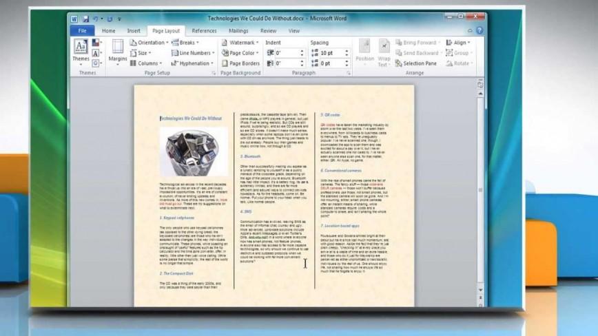 005 Singular Format Brochure Word 2007 Highest Quality 868