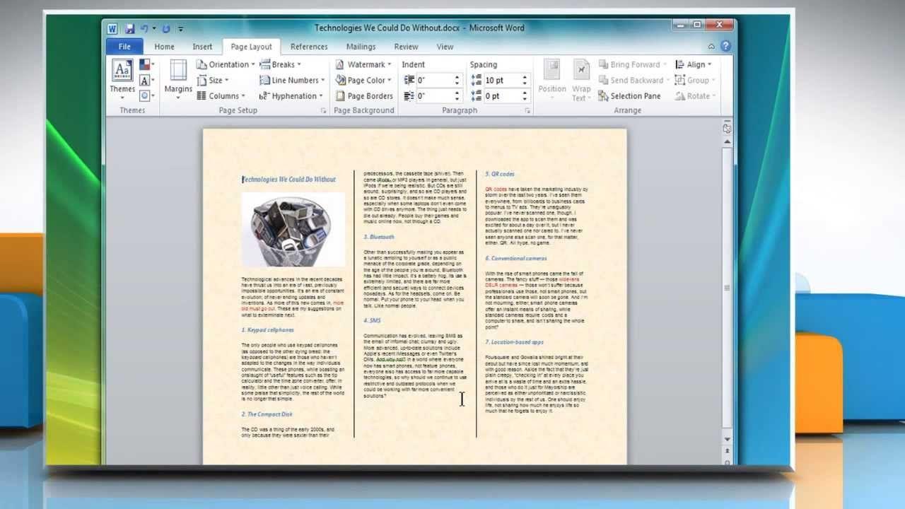 005 Singular Format Brochure Word 2007 Highest Quality Full