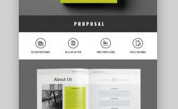 005 Singular Free Project Proposal Template High Resolution  Document Ppt Pdf