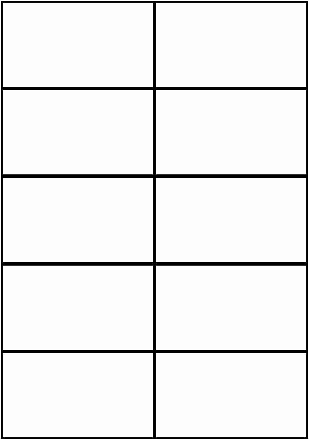 005 Singular Microsoft Word Note Card Format High Definition Full