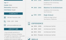 005 Singular One Page Resume Template High Resolution  Templates Microsoft Word Free
