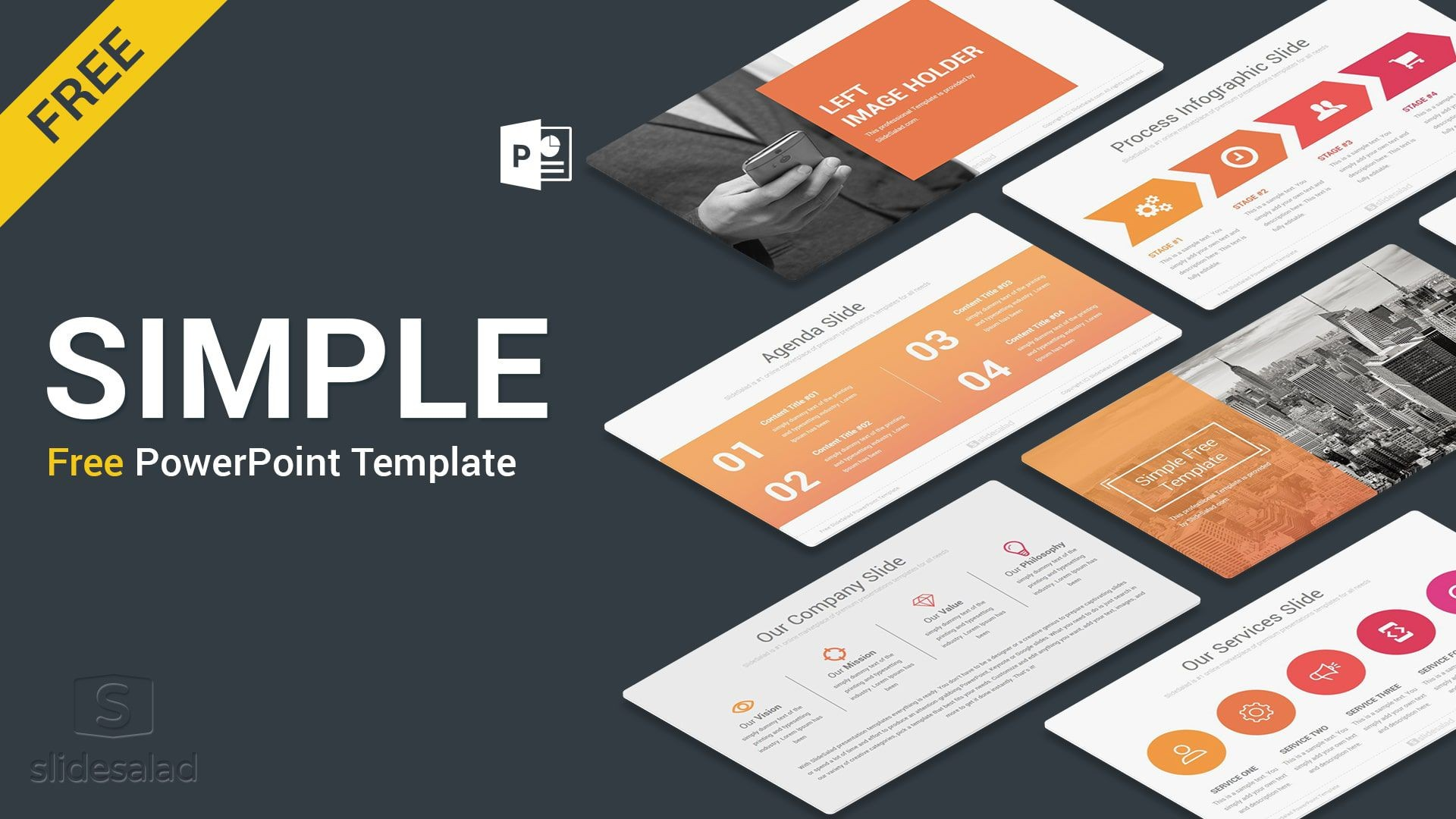 005 Singular Ppt Presentation Template Free Highest Quality  Professional Best For Corporate Download1920