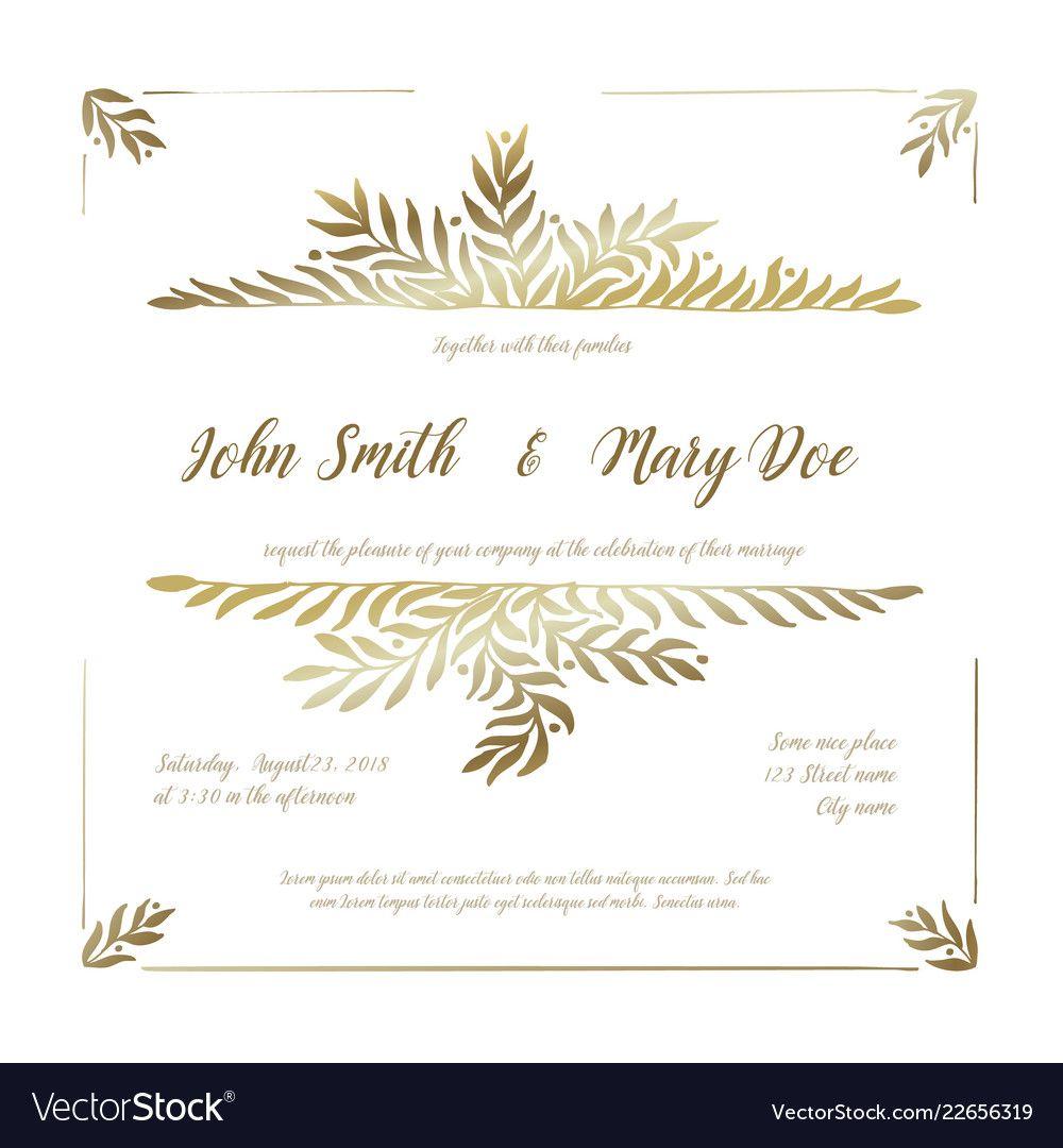 005 Singular Sample Wedding Invitation Card Template Idea  Templates Free Design Response WordingFull